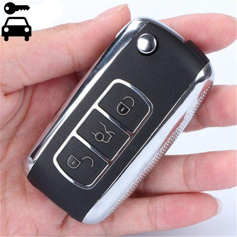 Для SsangYong Actyon Kyron Rexton Korando автомобиля добавить Складные дистанционного ключа замена удаленный ключевой 3 Пуговицы 433 мГц Бесплатная доставка