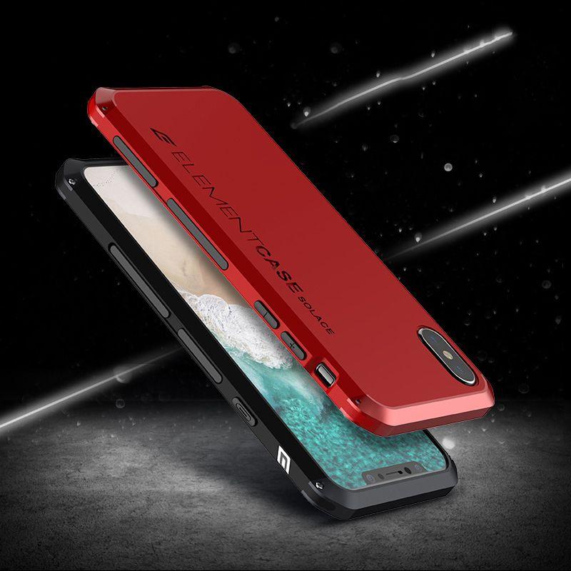 Anti-fall Metal Frame Plastic Back Plate For Xiaomi Mix 6 Redmi Note 5A 5 4X Aluminum Alloy Mobile Bumper Case Note 3 4/4X Cover