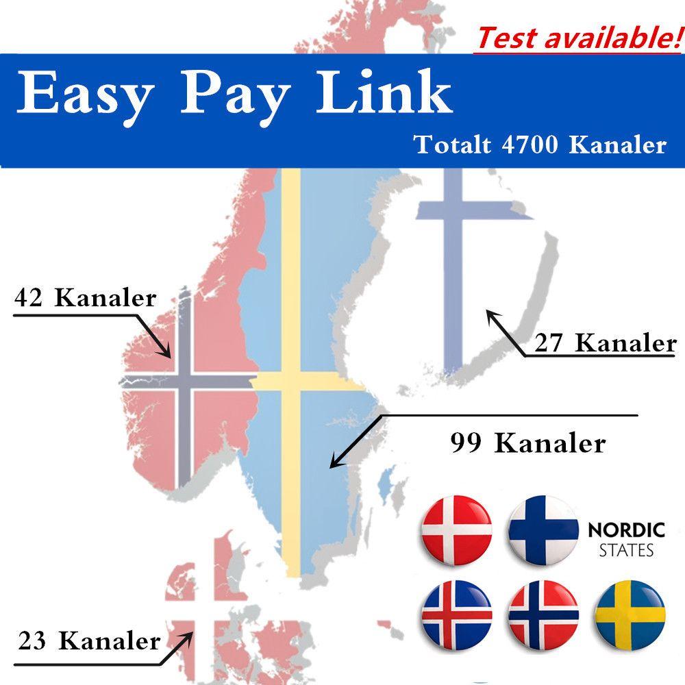 Best Scandinavia IPTV 4700 Channels total 190 Swedish Norwegian Danish IPTV Scandinavia channels Sweden Norway Denmark best iptv
