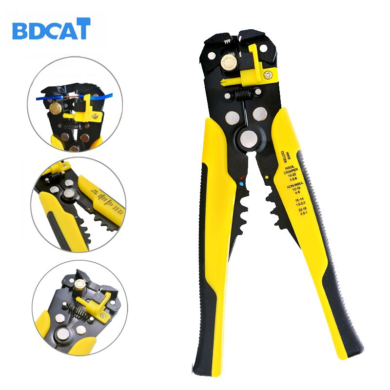 Multifuction Professional Automatic Wire Stripper Cutter Stripper Crimper Pliers Terminal Hand Tool Cutting and Stripping Wire