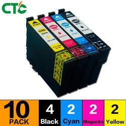 10 Pack T2996 29XL Cartouche D'encre Compatible pour XP 235 335 332 432 435 442 332 342 345 245 247 imprimante