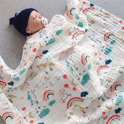 Kain Kasa Bungkus Baru Lahir Bayi Membedung Selimut Bayi Fotografi Bungkus Bayi Unicorn Selimut Darievy De Bebes Gadis Stroller Cover Mat
