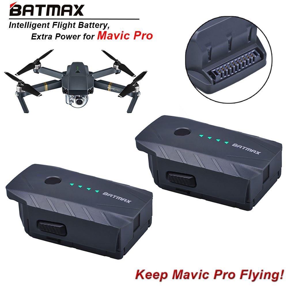 2 Stücke 3830 mAh Mavic Pro Intelligente Flug Ersatz Batterie Für DJI Mavic Pro/Fliegen Mehr Combo Quadcopter 4 Karat HD Kamera Drohnen