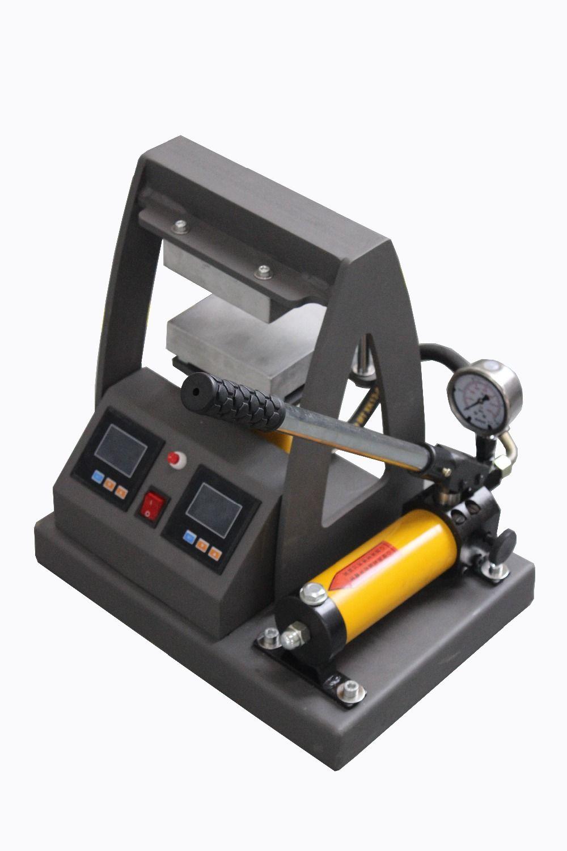 High Pressure dual heating plates hydraulic rosin heat press