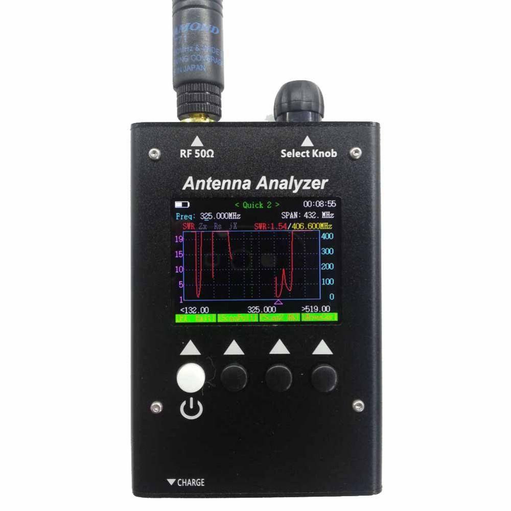 NEW SURECOM-HK SA-250 132-173 / 200-260 / 400-519MHz Colour Graphic Antenna SA250 Analyzer analizador de antena