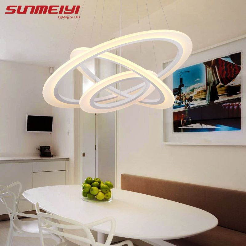 2018 Modern LED Pendant Lights For Living Room lamparas de techo Indoor Lamp Light Fixture luminaires suspendus lustre