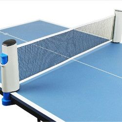 Retractable Table Tennis Table Grid Plastic Strong Mesh Net Portable Net Kit Net Rack Replace Kit For Ping Pong Playing
