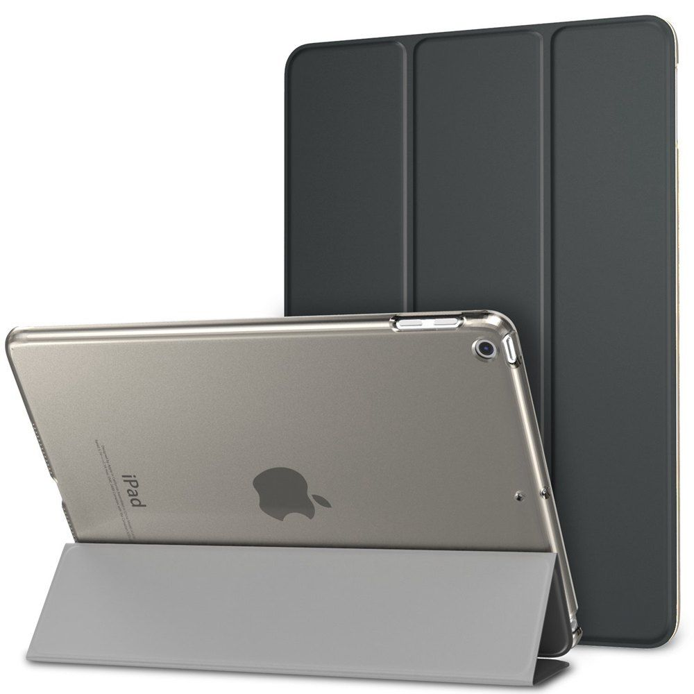 Ultra-thin Magnetic Case for iPad 9.7 2017 New Model A1822 / A1823 Smart PU Leather Funda Cover With Auto Sleep/Wake Up+Film+Pen