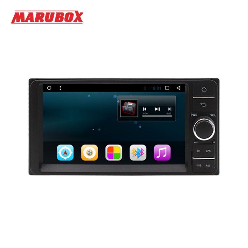 Marubox Head Unit Android 7.1 Quad Core For Toyota 2 Din Universal Wifi GPS 7