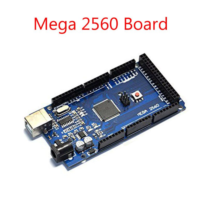 Mega 2560 R3 Mega2560 REV3 (ATmega2560-16AU CH340G) Conseil sans Câble USB Compatible pour Arduino