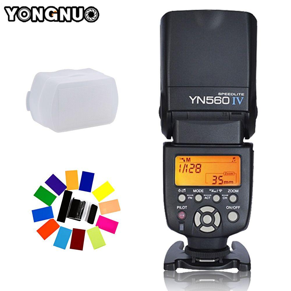 Yongnuo YN-560 IV YN560IV YN560 IV Universal Wireless Flash Speedlite For Canon Nikon Pentax <font><b>Olympus</b></font> Fujifilm Panasonic Sony A99