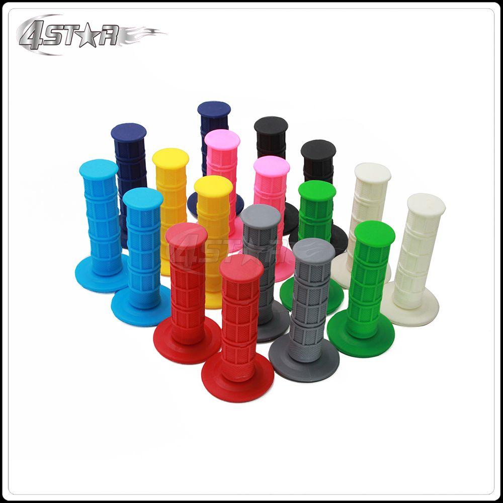 10 Color Softest Handle bar Grips Rubber Gel Grips For KTM EXC SX XC SXF YZ YZF WR WRF CR CRF KX KXF KLX DRZ RMZ Dirt Bike