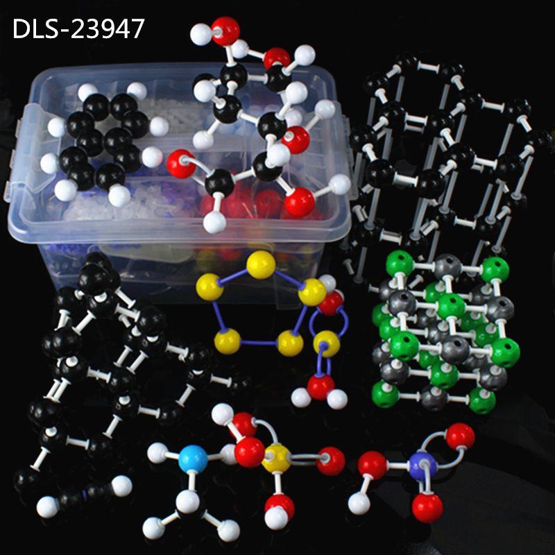 947pc Molecular Model DLS-23947 Large Set Inorganic / Organic Molecular Modeling Kit For University Chemistry Teacher With Box