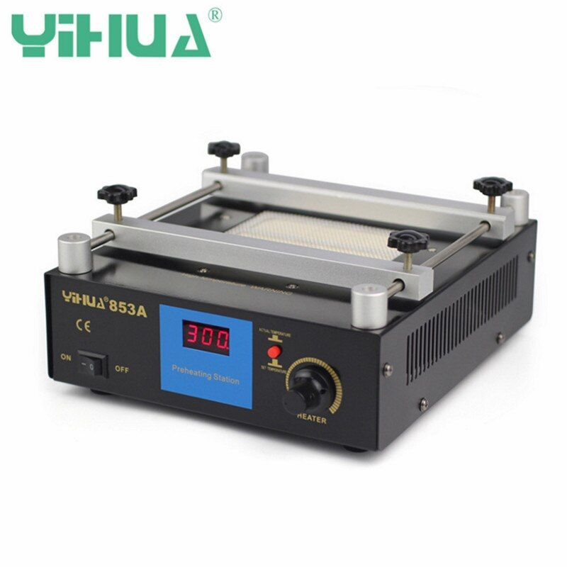 YIHUA 853A 50Hz 220V Digital Preheat Soldering Station High Power ESD BGA Rework Station PCB Desoldering IR Preheating
