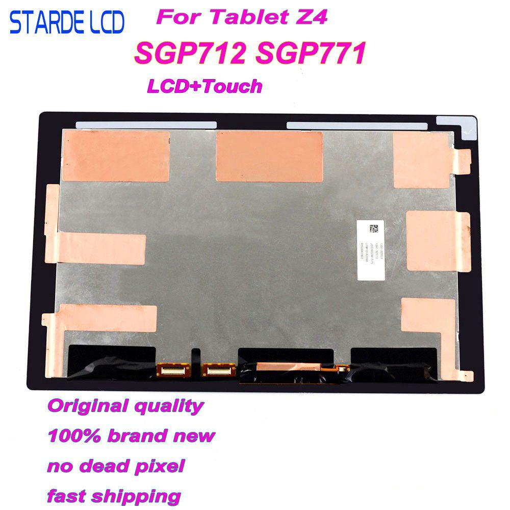 Starde LCD pour Sony Xperia tablette Z4 SGP712 SGP771 LCD écran tactile numériseur assemblée Z4 Lcd affichage