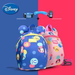 Disney niño Anti perdido mochila Cartoon Antilost enlace niños mochila caminando Correa correas