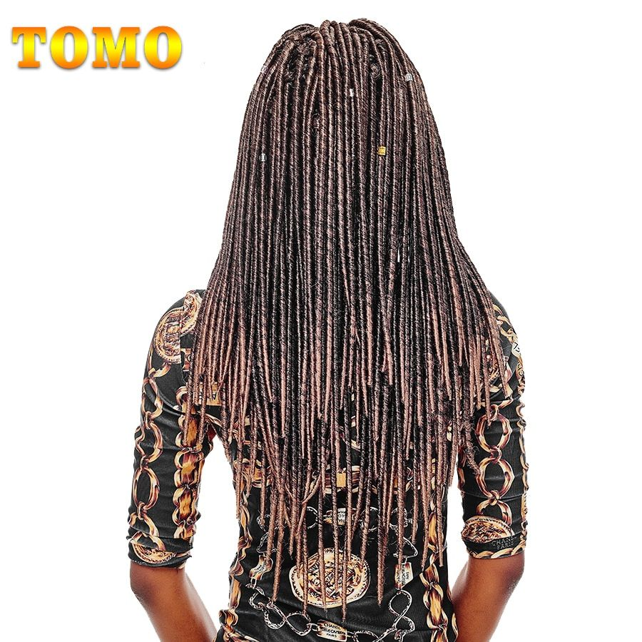 TOMO Hair Synthetic Dreadlocks Hair Extensions 18