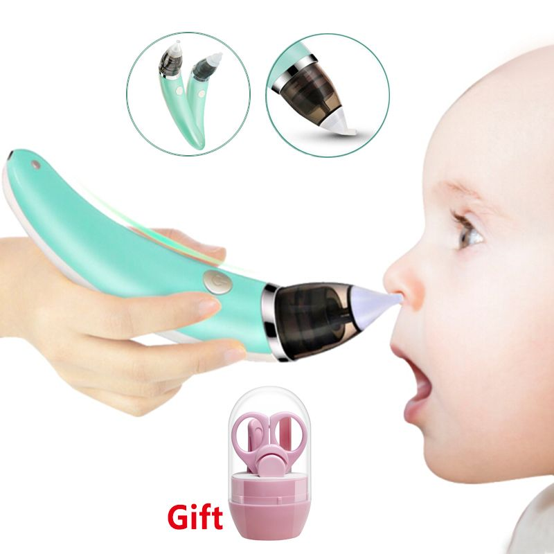 Kid Baby baby Nasal Aspirator Electric Nose Cleaner Newborn baby sucker cleaner Sniffling Equipment Safe Hygienic Nose aspirator