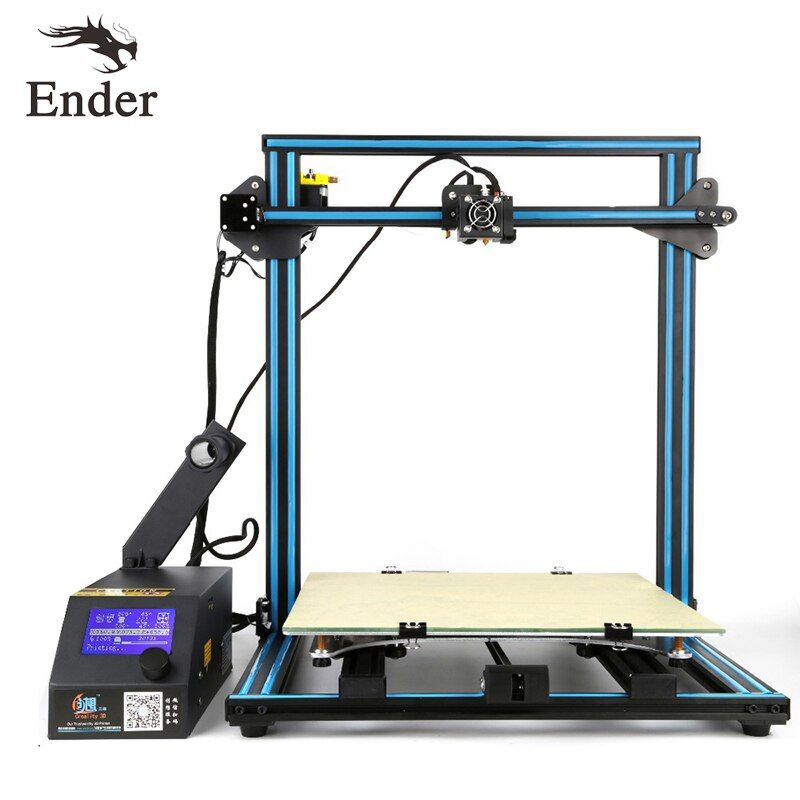CR-10s 4S 3D Printer DIY KIT Large Size Dual-screws Rod.Filament Monitoring Alarm Continuation Print of power fail Creality 3D