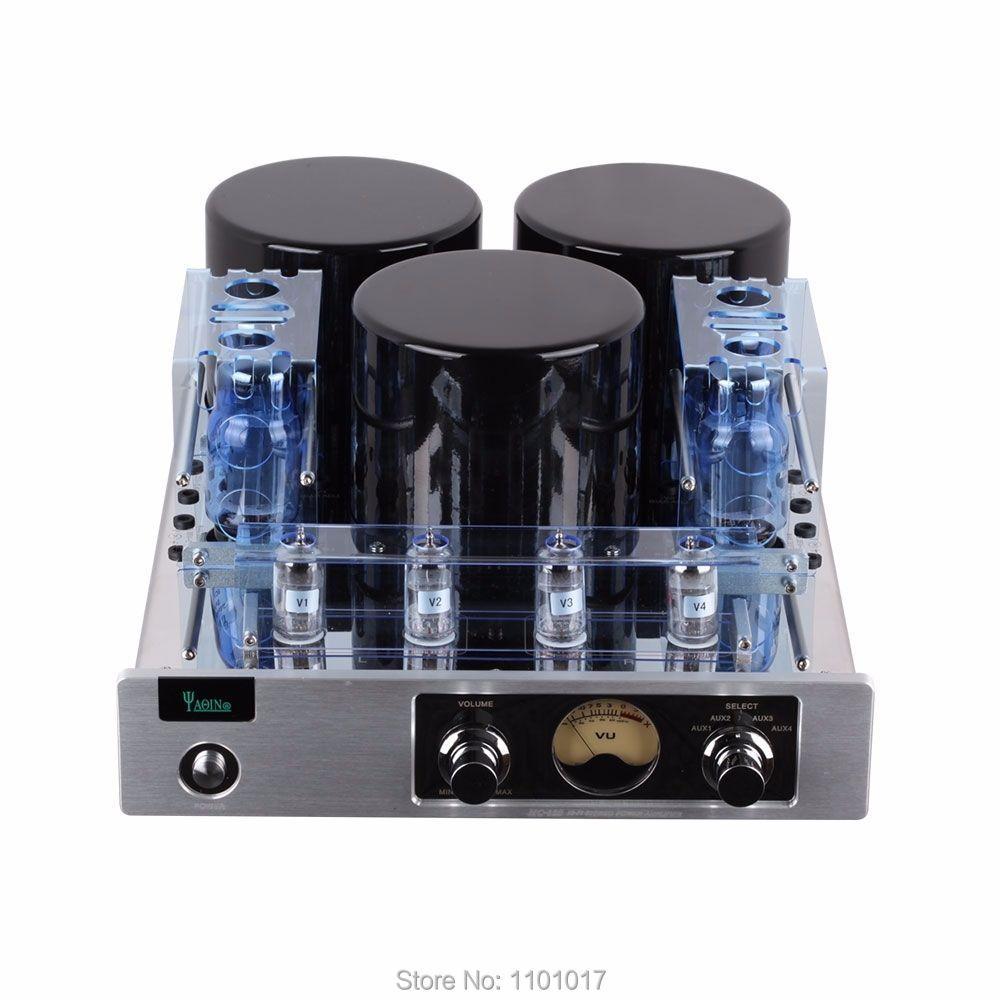 YAQIN MC-13S 6CA7T push-pull Rohr Verstärker HIFI EXQUIS lampe Integriert amp Luxus version