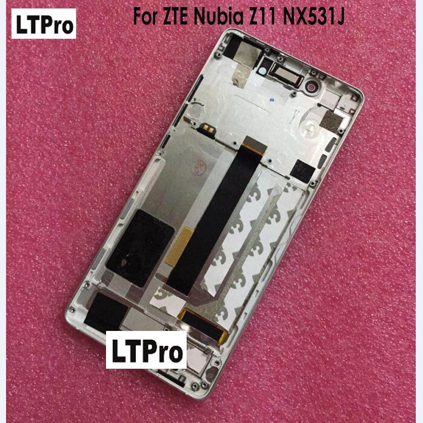 LTPro Best Quality For ZTE Nubia Z11 NX531J LCD display touch Screen digitizer or with frame Mobile Panel Sensor Repair Parts