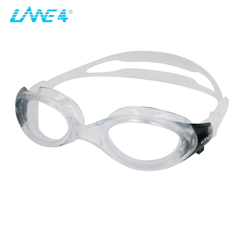 LANE4  swimming glasses men for adult me, anti-fog adjustable swimming glasses swim eyewear prescription racing goggles A703