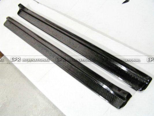 Für Nissan R34 Carbon Einstiegsleisten Fibre Seite Panel Zubehör Trim Car-Styling