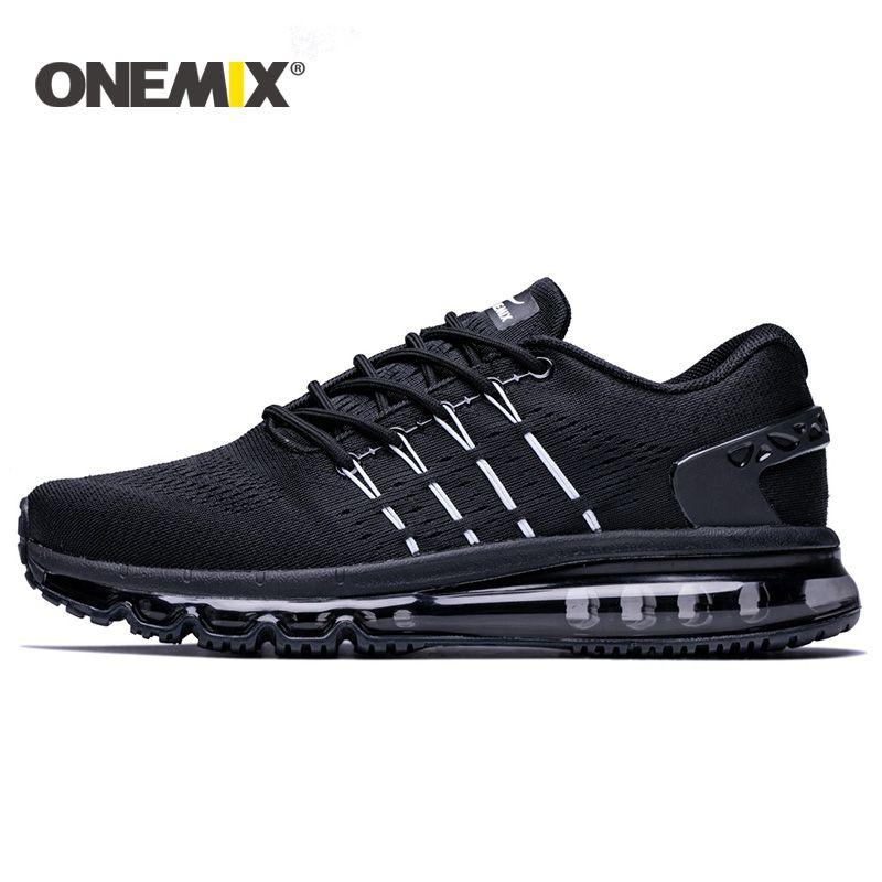 Onemix 2017 nouveaux hommes chaussures de course unique conception respirant sport chaussures pour hommes mâle de sport en plein air sneakers zapatos de hombre