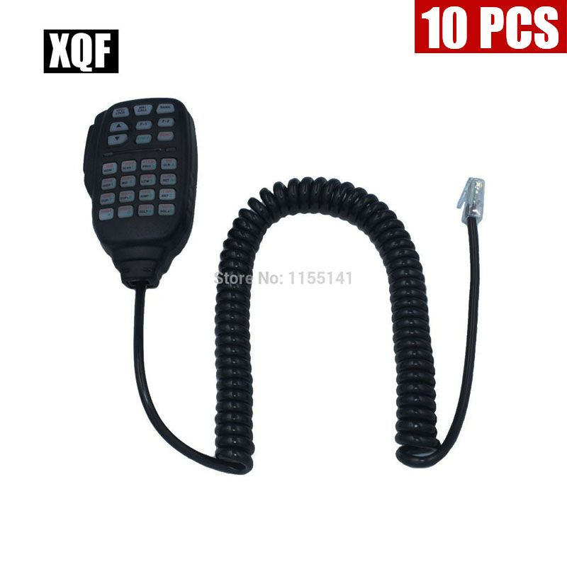 XQF 10PCS Handheld Speaker Microphone Mic HM-133V For icom radio IC-2200H IC-V8000