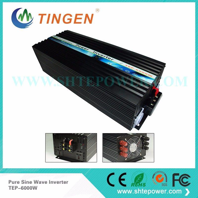 Helpful in life dc ac off grid 12v china pure sine inverter 6000w for 220v 230v 240v country