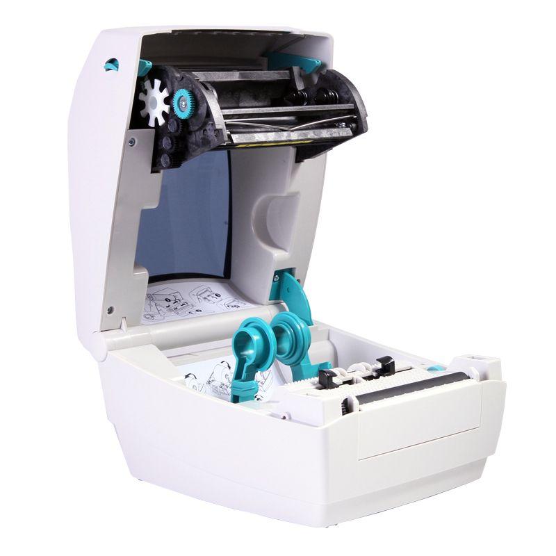 Fast delivery Zebra GK888T 108mm thermal & transfer sticker printer machine to print Clothing tag, shipping mark etiqutadora