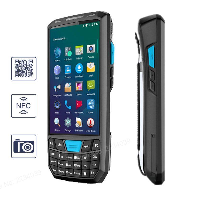 4,5 inch tragbare Android Daten sammler 4G wifi bluetooth PDA drahtlose Pos termina 1D/2D barcode scanner