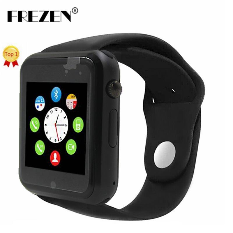 FREZEN Bluetooth Smart Watch G10D WristWatch MTK6261D Sport Pedometer Sim Card Smartwatch For Android Smartphone PK GT08 DZ09