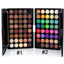 Nouvelle Marque Professionnelle maquillage mat ombre à paupières glitter make up ombre à paupières 40 Couleurs fard à paupières Palette Beauté eye glitter MS4001