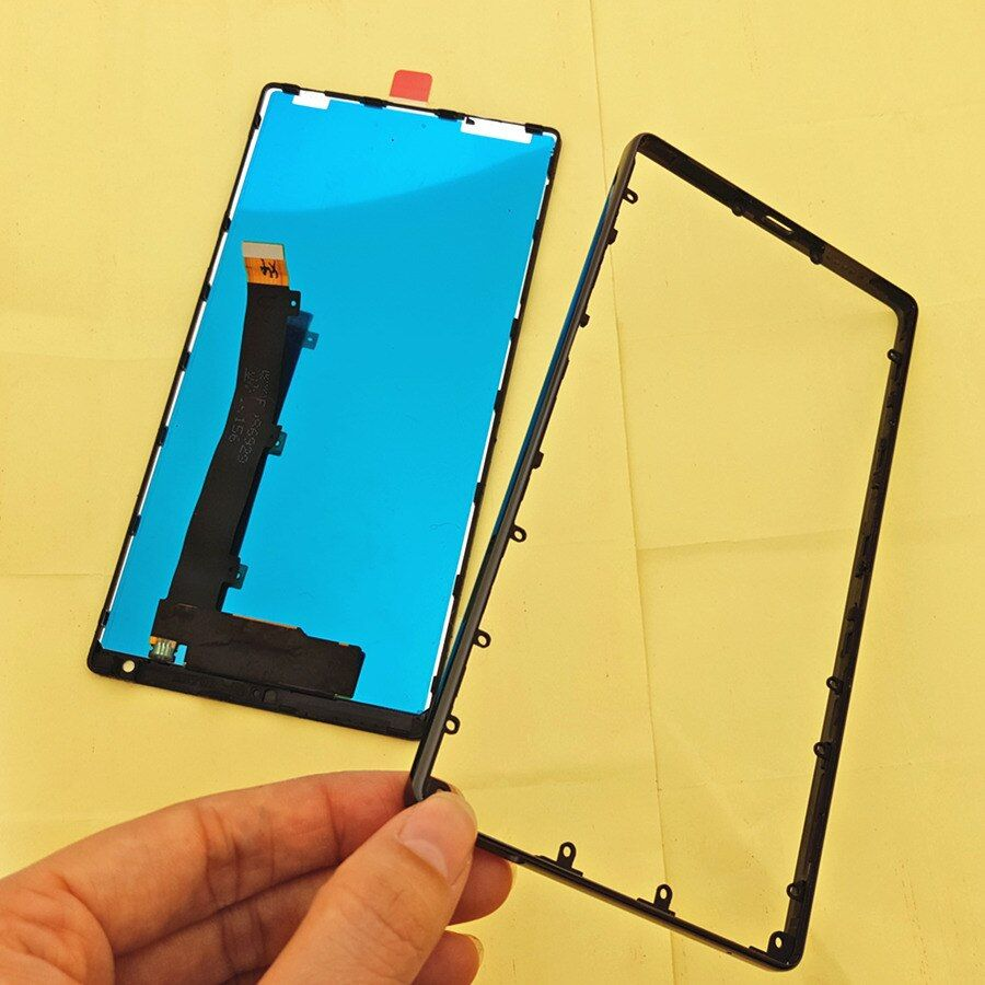 Joliwow! FÜR Xiaomi Mi MIX LCD Display Touchscreen mit rahmen + Keramik rahmen Ersatz für 6,4 xiaomi mix pro