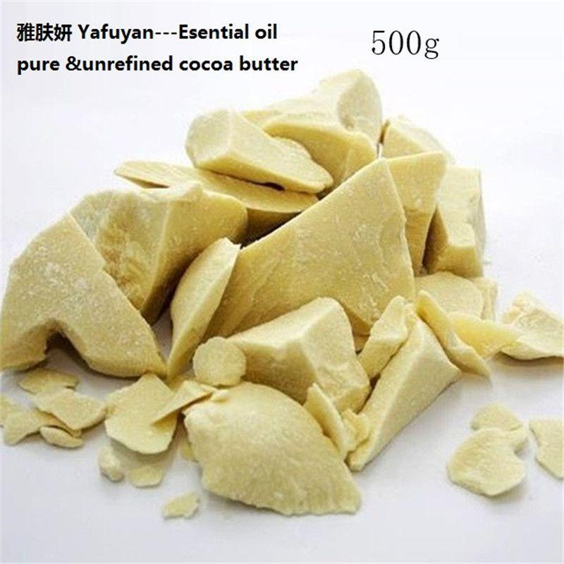 Huile essentielle naturelle bio 500 g/sac pur beurre de cacao onces brut non raffiné huile de Base beurre de cacao YAFUYAN qualité cosmétique