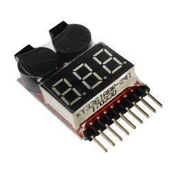 1-8 S Lipo/Li-ion/Fe Tension de La Batterie 2IN1 Tester Basse Tension Alarme Par Buzzer Vente Chaude