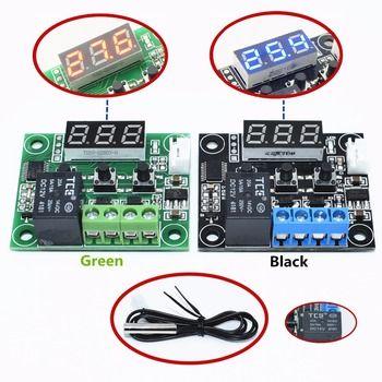 W1209 синий/красный свет DC 12 В тепла круто Температура Переключатель регулирования температуры Термостат Регулятор температуры термометр те...