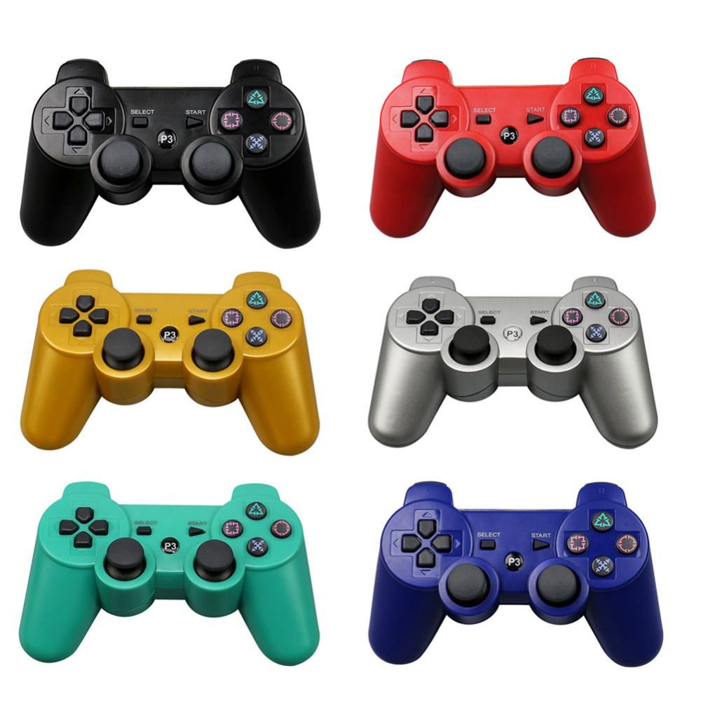 For Sony PS3 Wireless Bluetooth Game Controller 2.4GHz 7 Colors For Playstation 3 Control <font><b>Joystick</b></font> Gamepad Top Sale