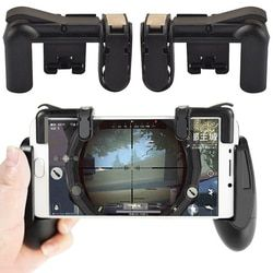 For PUBG Controller Gamepad Game Pad Joystick Game Trigger Cell Phone Mobile Fire Button L1R1 Aim Key for iphone Android Fortnit