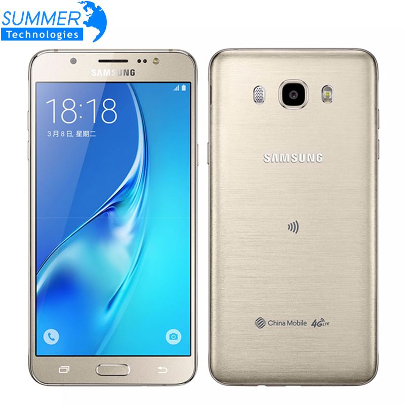 Original Samsung Galaxy J7 J7108 Octa Core Dual SIM FDD/TDD LTE Mobile Phone 3G RAM 16G ROM 5.5