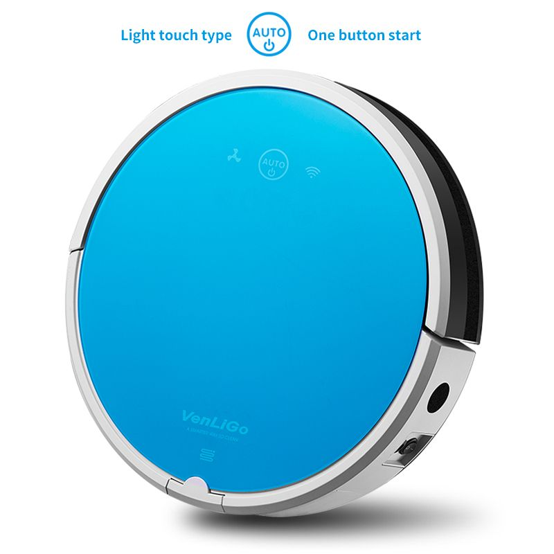 Intelligent robot vacuum Cleaner for home G5 Efficient Clean HEPA Sensor Remote control Self Charge,Wet and dry