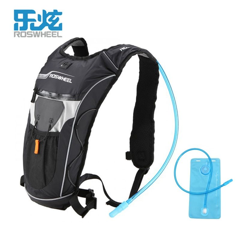 Roswheel Running Bag Men Women Cycling Backpack Hiking Marathon Racing Run Pack Sports Water Bag Bladder Hydration Camelback