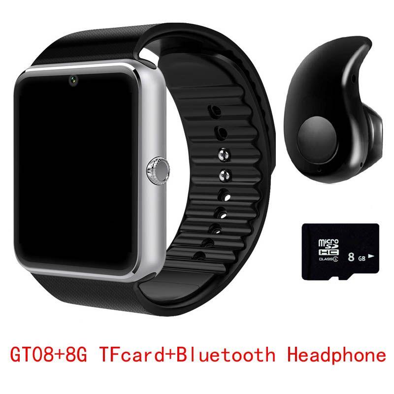 2017 Hot GT08 Bluetooth Smart Watch Sync Notifier Clock Connectivity Android Phone Smartwatch Support Sim TF Card PK DZ09 Q18