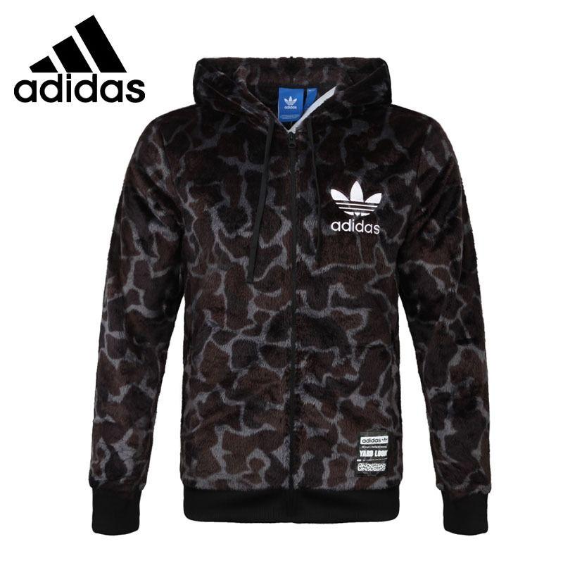 Original Neue Ankunft 2017 Adidas Originals GRAFIK SHERPA männer jacke Kapuze Sport