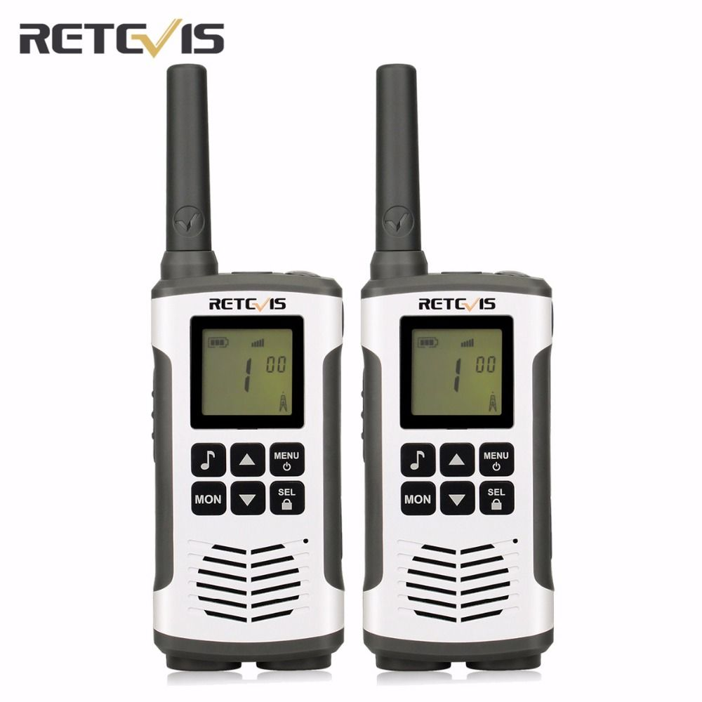 1 Pair Retevis RT45 License-free FRS/PMR446 0.5W Handheld Two Way Radio VOX Room Monitor Walkie Talkie transceiver A9135