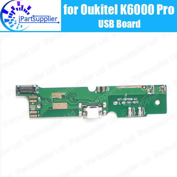 Oukitel K6000 Pro usb board  100% Original New for usb plug charge board Replacement Accessories for Oukitel K6000 Pro