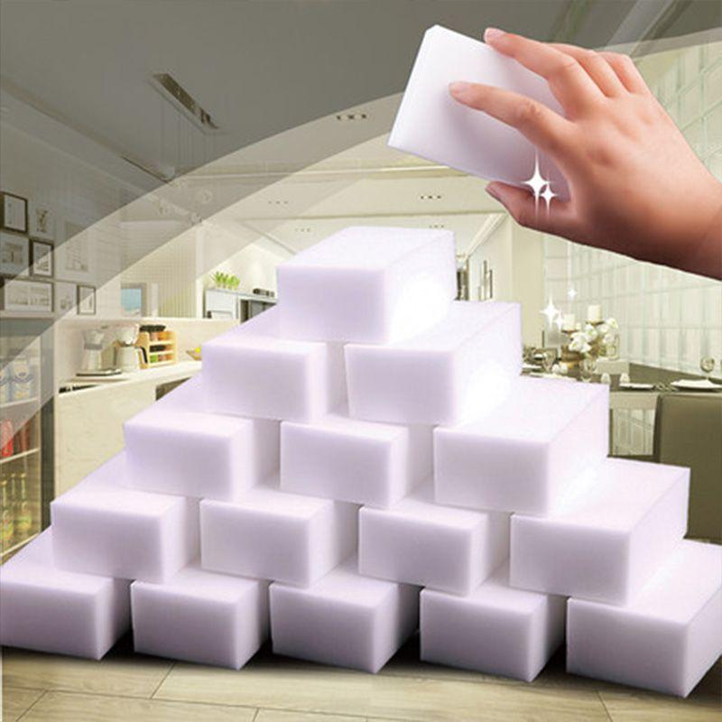 100Pcs/40pcs High Quality Nona Magic Clean Sponge Melamine Eraser Cleaner,Bathroom Kitchen Accessories Cleaning Tools