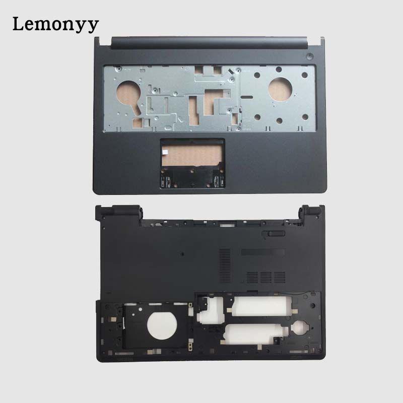 New Palmrest Upper Case/Bottom case cover For Dell Inspiron 15u 15-5000 5000 5555 5558 5559 V3558 V3559 0T7K57