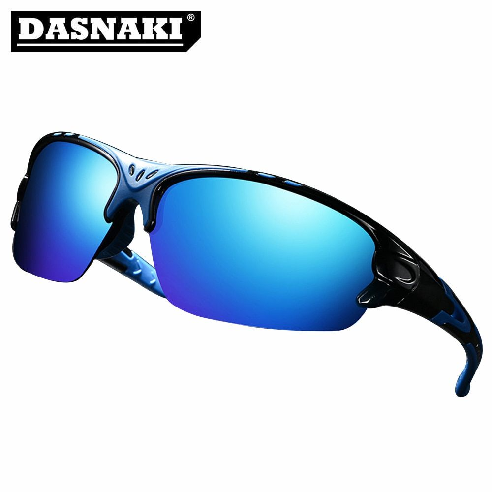 DASNAKI 100% Polarized fishing glasses out sport sunglasses men Glasses Anti-glare Clearly Vision for fishing Cycling Hiking